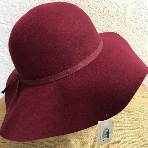 d185a3174 Cranberry felt hat